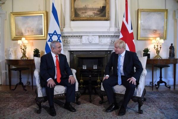 بنیامین نتانیاهو و بوریس جانسون,اخبار سیاسی,خبرهای سیاسی,سیاست خارجی