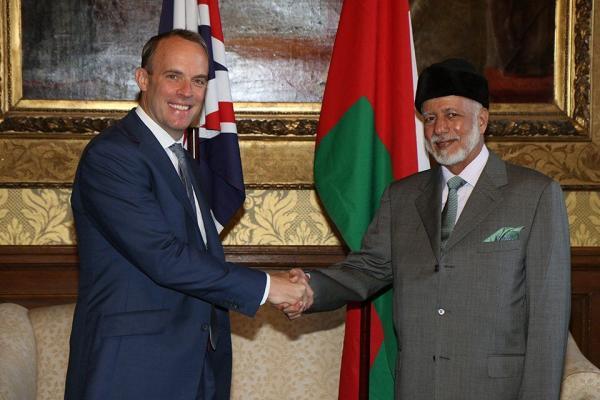 وزیر خارجه انگلیس و عمان,اخبار سیاسی,خبرهای سیاسی,سیاست خارجی