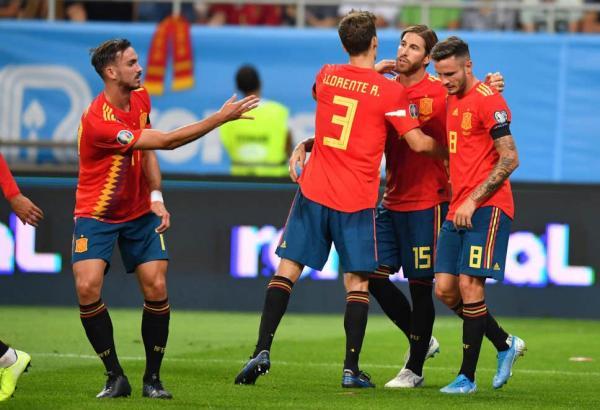 دیدار تیم ملی اسپانیا و رومانی,اخبار فوتبال,خبرهای فوتبال,جام ملت های اروپا