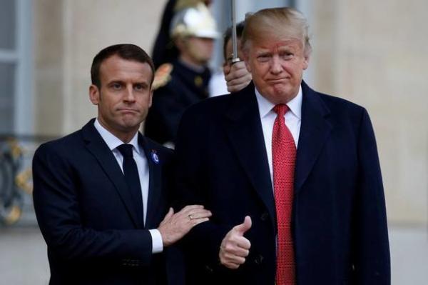 ترامپ و مکرون,اخبار سیاسی,خبرهای سیاسی,سیاست خارجی
