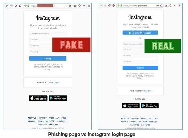 حملات فیشینگ در اینستاگرام,اخبار دیجیتال,خبرهای دیجیتال,شبکه های اجتماعی و اپلیکیشن ها