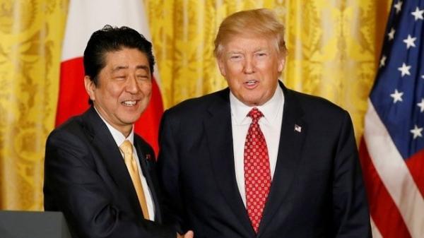 دونالد ترامپ و شینزو آبه,اخبار اقتصادی,خبرهای اقتصادی,اقتصاد جهان