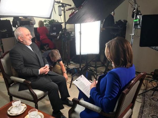 گفتگوی ظریف با سی بی اس,اخبار سیاسی,خبرهای سیاسی,سیاست خارجی