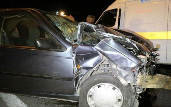 تصادف در مسیر نیکشهر قصرقند,اخبار حوادث,خبرهای حوادث,حوادث