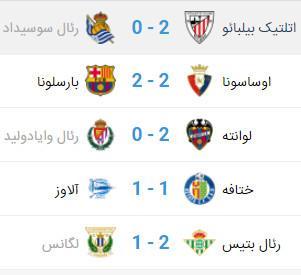 دیدار بارسلونا و اوساسونا,اخبار فوتبال,خبرهای فوتبال,اخبار فوتبال جهان
