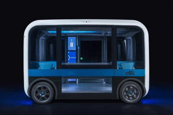 اتوبوسهای خودران با چاپ ۳بعدی,اخبار خودرو,خبرهای خودرو,مقایسه خودرو