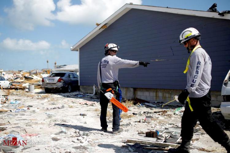 تصاویر طوفان دوریان در باهاما,عکس های خسارات طوفان دوریان,تصاویر نجات قربانیان در طوفان دوریان