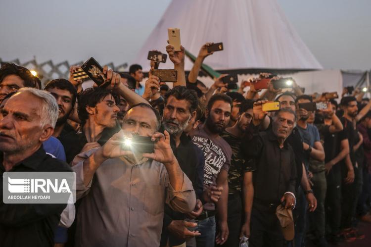تصاویر مراسم خیمه سوزان در میدان امام حسین(ع),عکس های مراسم خیمه سوزان در عاشورا,تصاویر مراسم خیمه سوزان در تهران