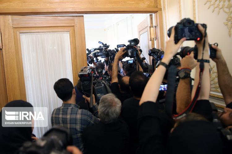 تصاویر دیدار مدیرکل موقت آژانس بینالمللی انرژی اتمی با ظریف,عکس های مدیرکل موقت آژانس بین المللی انرژی اتمی در تهران,تصاویر دیدار ظریف و کرنل فروتا