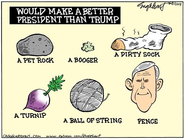 کارتون استیضاح دونالد ترامپ