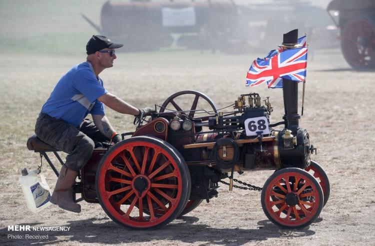 تصاویر جشنواره ماشین های بخار در انگلیس,عکس های جشنواره ماشین های بخار در انگلیس,تصاویر جشنواره ماشین های بخار