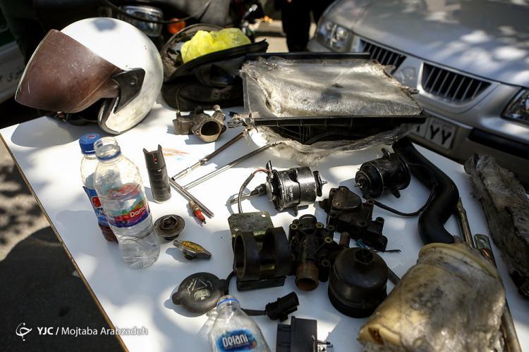 تصاویر کلاهبردار با پوشش امدادخودرو,عکس های دستگیری کلاهبردار با پوشش امدادخودرو,تصاویر کلاهبرداری از مردم