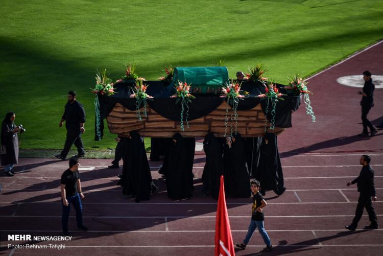 تصاویر گردهمایی شیرخوارگان حسینی,عکس های گردهمایی شیرخوارگان حسینی,گردهمایی شیرخوارگان حسینی در ورزشگاه آزادی