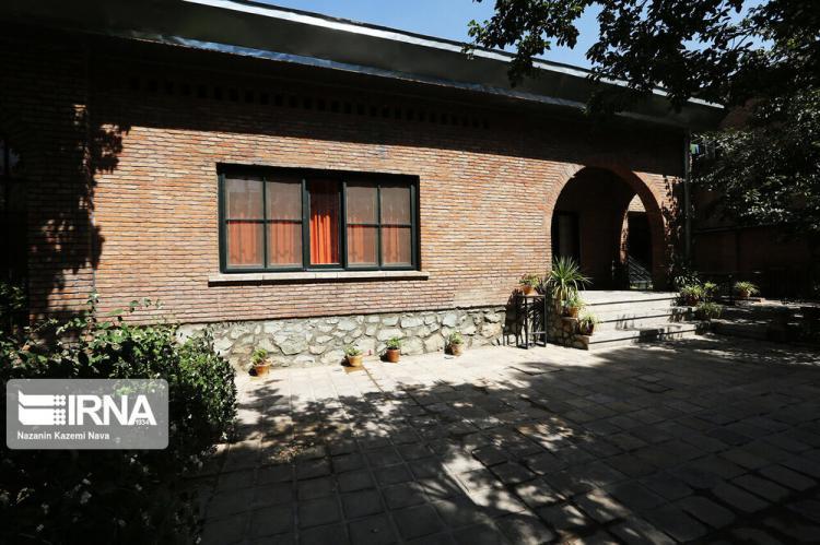 تصاویر خانه جنجالی جلال آل احمد,عکس های موزه جلال آل احمد,عکس های خانه موزه سیمین و جلال