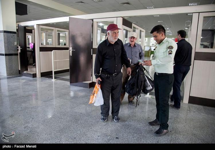تصاویر مرز خسروی در ایام اربعین,عکس های تردد زائران از مرز خسروی,تصاویر بازگشایی مرز خسروی