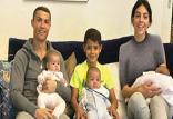 کریستیانو رونالدو و خانواده اش,اخبار فوتبال,خبرهای فوتبال,اخبار فوتبالیست ها