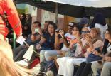 گردشگران اسپانیایی در حال تماشای تعزیه,اخبار مذهبی,خبرهای مذهبی,فرهنگ و حماسه