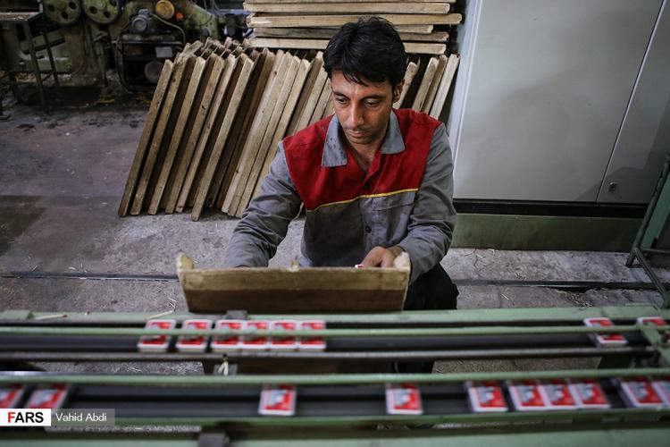 تصاویر کبریت سازی در تبریز,عکس های کارخانههای کبریتسازی در تبریز,تصاویر کبریت در تبریز
