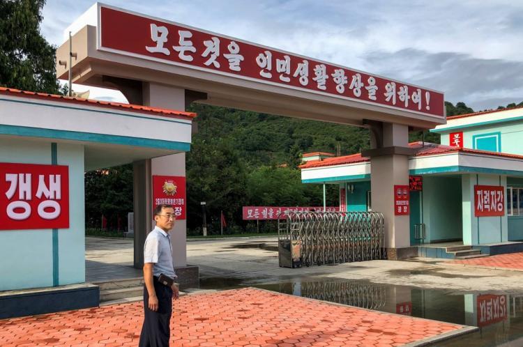تصاویر کارخانه سونگ دون,عکس های کارخانه سونگ دون,تصاویر پیشرفتهترین کارخانه در کره شمالی