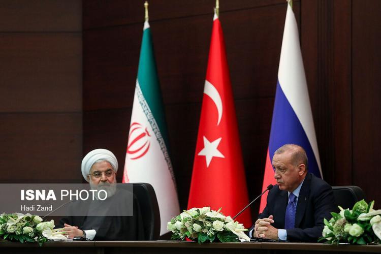تصاویر اجلاس سران سه کشور,عکس های نشست خبری سران,تصاویر اجلاس سران سه کشور