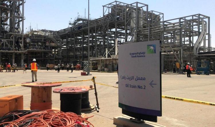 تصاویر تاسیسات نفتی آرامکو,عکس های وضعیت تاسیسات نفتی آرامکوی عربستان,عکس های تاسیسات نفتی آرامکو بعد از حمله یمن