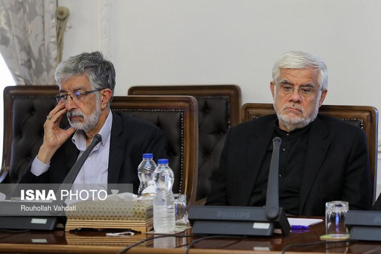 تصاویر جلسه شورای عالی انقلاب فرهنگی,عکس های جلسه شورای عالی انقلاب فرهنگی,تصاویر حسن روحانی