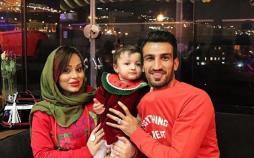 حسین ماهینی و همسرش,اخبار فوتبال,خبرهای فوتبال,اخبار فوتبالیست ها