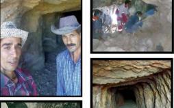 نجات یافتگان حادثه ریزش معدن در حوالی یزد,کار و کارگر,اخبار کار و کارگر,حوادث کار