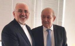 محمد جواد ظریف و لودریان,اخبار سیاسی,خبرهای سیاسی,سیاست خارجی