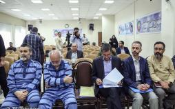 تصاویر دادگاه علی دیواندر,عکس های متهمان پرونده مدیرعامل اسبق بانک ملت,تصاویر دادگاه انقلاب اسلامی استان تهران