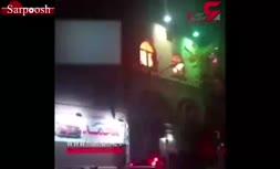 فیلم/ آتش سوزی مسجد یومالغدیر تهران در شب عاشورا