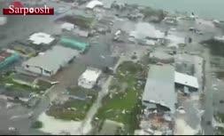 فیلم/ خسارت طوفان دوریان به جزیره آباکو