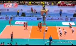 فیلم/ درگیری و تنش در جریان والیبال کره جنوبی - ایران