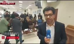 فیلم/ اولین جلسه دادگاه شبنم نعمتزاده، دختر وزیر صنعت سابق