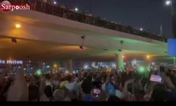 فیلم/ تظاهرات شبانه مخالفان سیسی در مصر