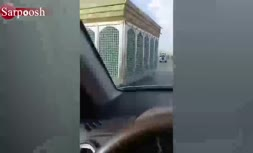 فیلم/ ضریح متحرک در شهر