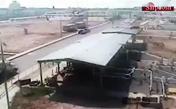تصاویری از لحظه حمله یمنیها به آرامکو عربستان