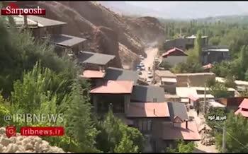 فیلم/ تخریب ویلای میلیاردی در فیروزکوه