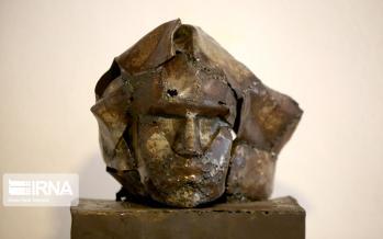 تصاویر نمایشگاه مجسمه های فلزی بازیافتی,عکس های نمایشگاه مجسمه های فلزی بازیافتی در قائمشهر,عکس های نمایشگاه های هنری