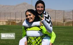 تصاویر رقابتهای لیگ برتر بانوان کشور,عکس های تیم فوتبال بانوان سپاهان,عکس های بانوان فوتبالیست ایران