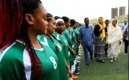 تصاویر لیگ فوتبال زنان در سودان,عکس های لیگ فوتبال زنان در سودان,تصاویر ورزش زنان