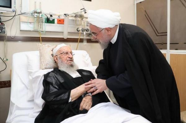 دیدار روحانی از آیتالله مکارم شیرازی,اخبار سیاسی,خبرهای سیاسی,دولت
