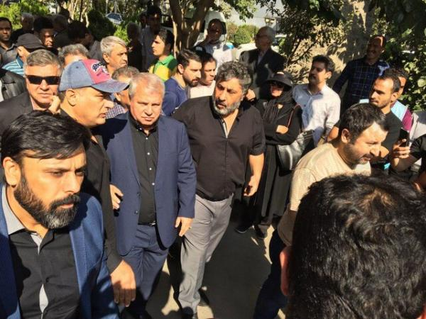 مراسم تشییع پیکر جعفر کاشانی,اخبار فوتبال,خبرهای فوتبال,اخبار فوتبالیست ها