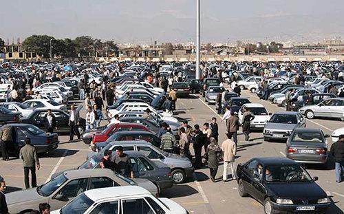 وضعیت قیمتها در بازار خودرو,اخبار خودرو,خبرهای خودرو,بازار خودرو
