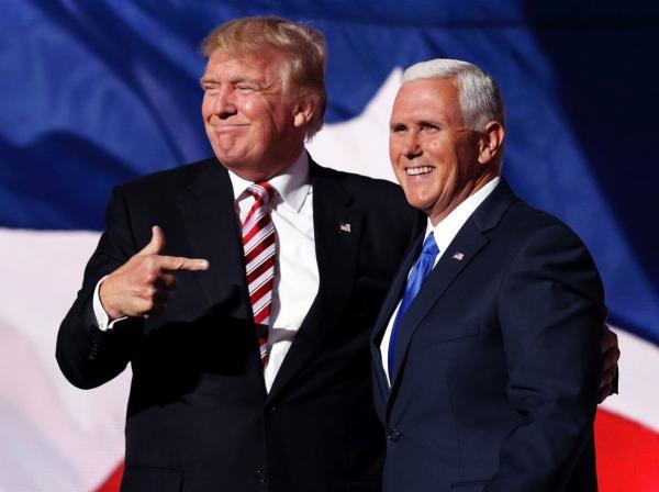 مایک پنس و دونالد ترامپ,اخبار سیاسی,خبرهای سیاسی,سیاست خارجی