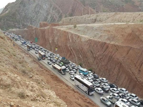مسدود شدن محور ایلام - مهران,اخبار اجتماعی,خبرهای اجتماعی,وضعیت ترافیک و آب و هوا