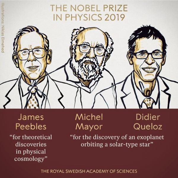 برندگان نوبل فیزیک ۲۰۱۹,اخبار علمی,خبرهای علمی,پژوهش