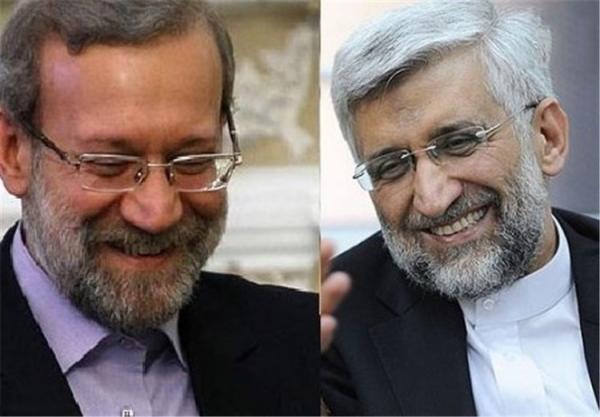 علی لاریجانی و سعید جلیلی,اخبار سیاسی,خبرهای سیاسی,احزاب و شخصیتها
