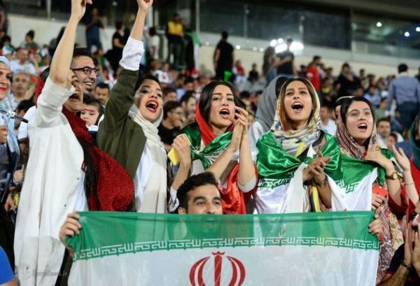 حضور زنان در ورزشگاه آزادی,اخبار فوتبال,خبرهای فوتبال,فوتبال ملی