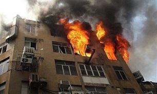 آتشسوزی در غرب تهران,اخبار حوادث,خبرهای حوادث,حوادث امروز
